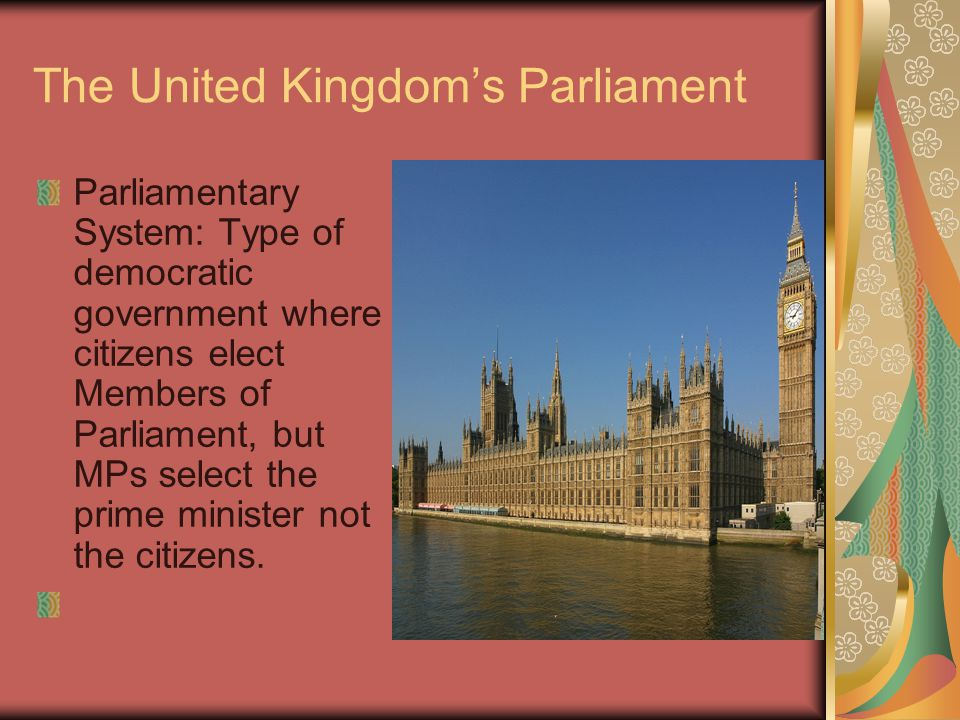 The United Kingdom's Parliament