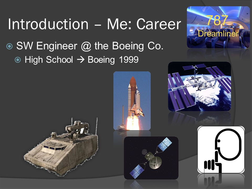Introduction – Me: Career