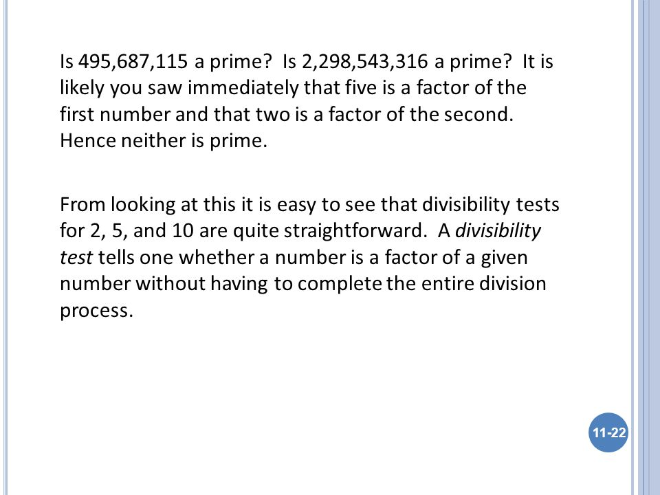 Is 495,687,115 a prime. Is 2,298,543,316 a prime.