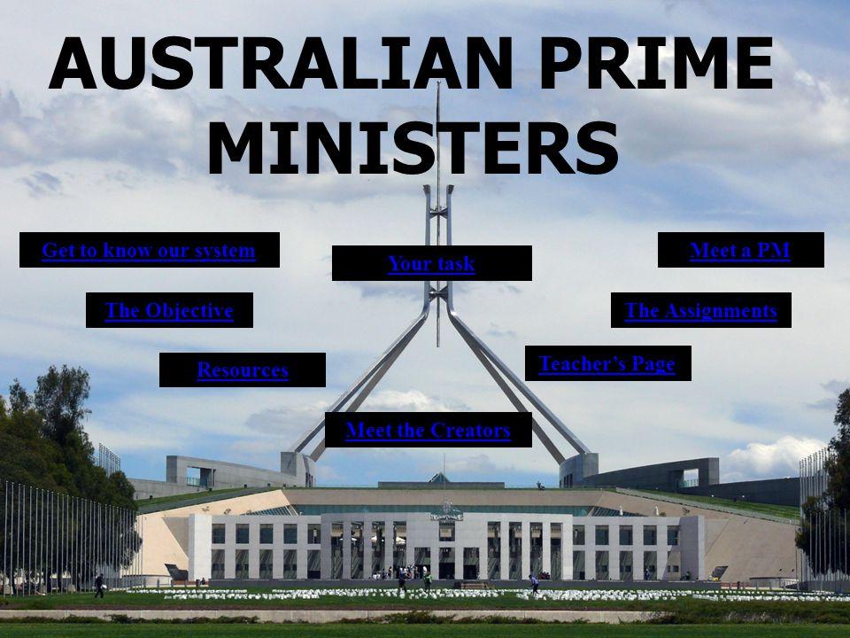 AUSTRALIAN PRIME MINISTERS
