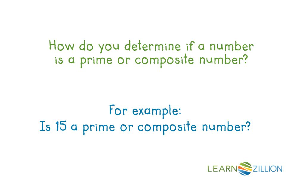 Is 15 a prime or composite number