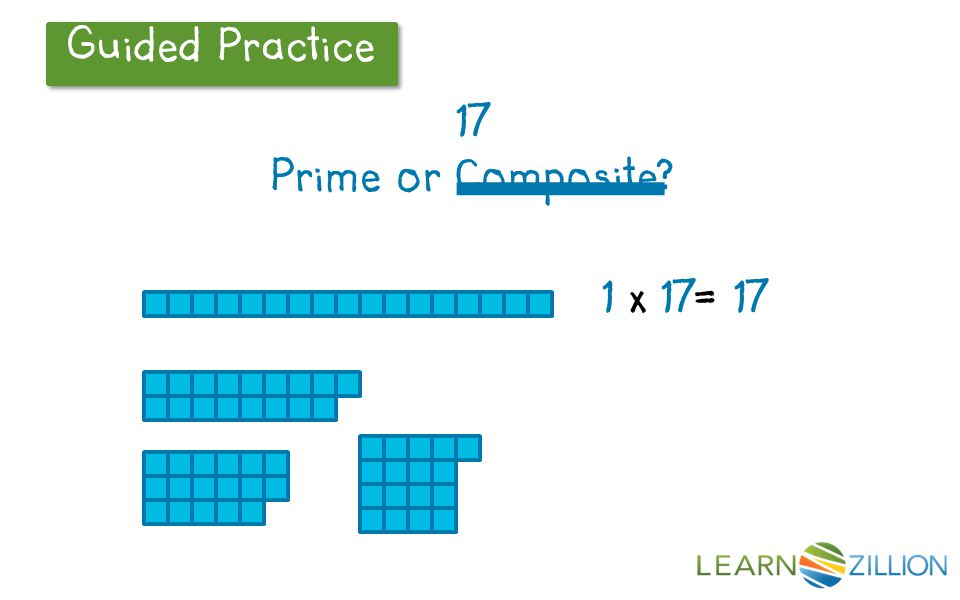17 Prime or Composite LearnZillion Notes: