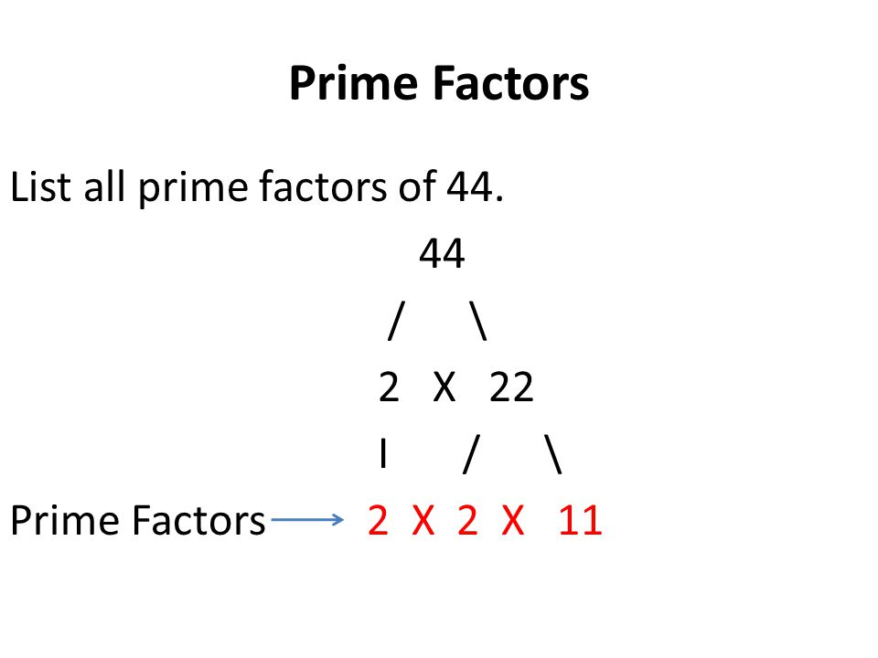 Write all factors of 42