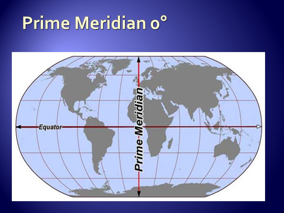 Prime Meridian 0°