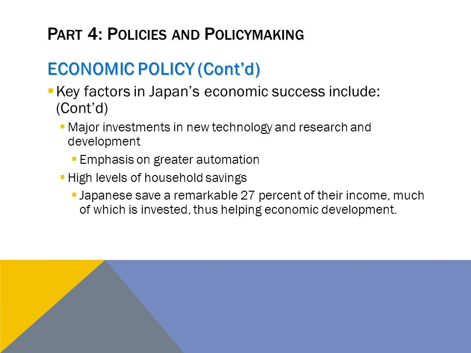 Part 4: Policies and Policymaking