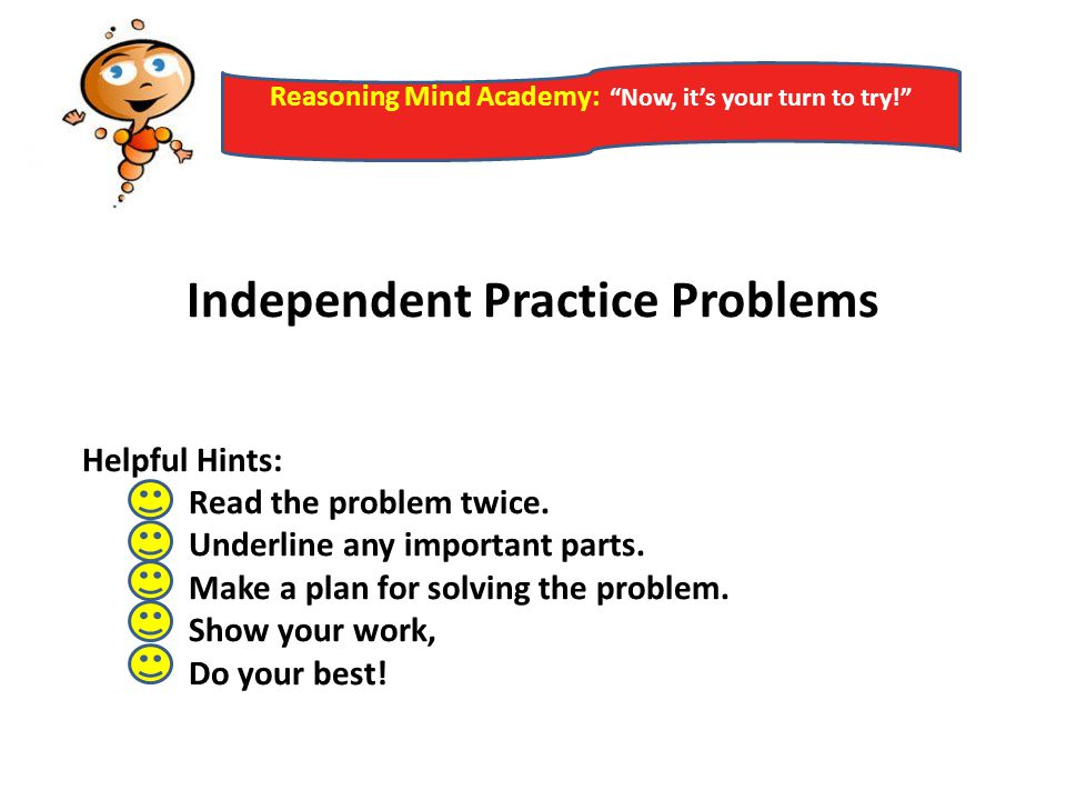 Independent Practice Problems