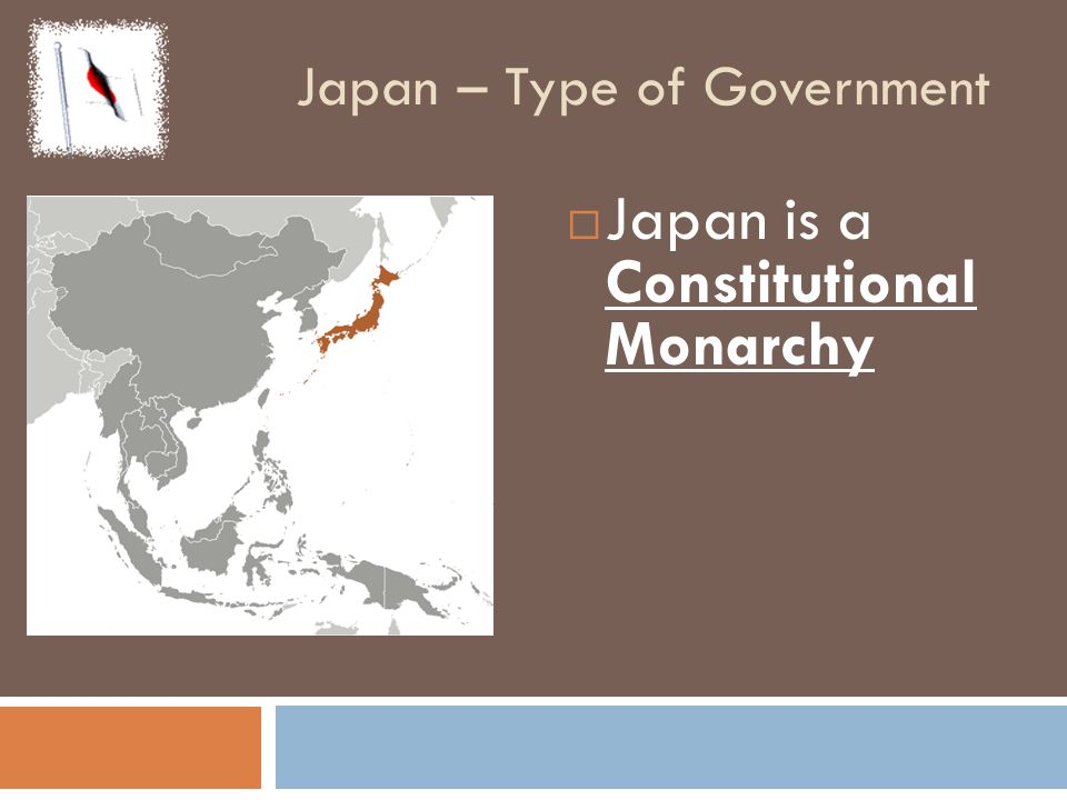 Japan – Type of Government