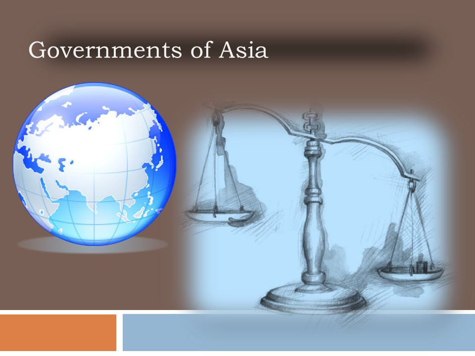 Governments of Asia 2