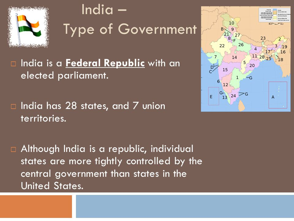 India – Type of Government