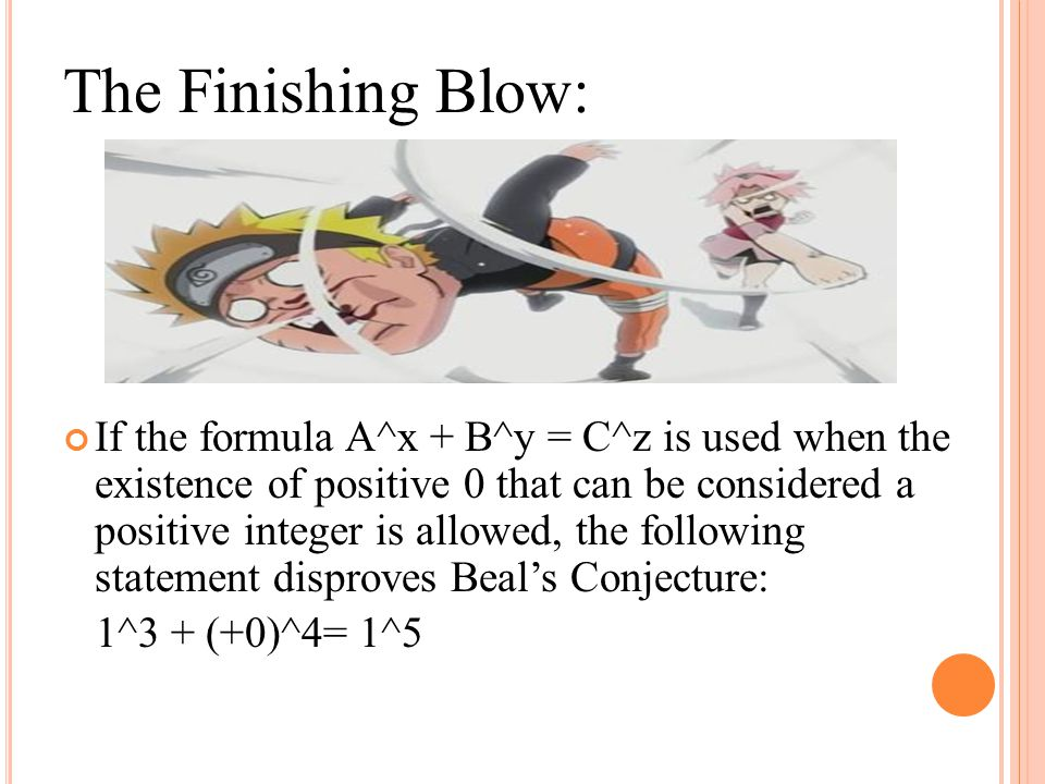 The Finishing Blow: