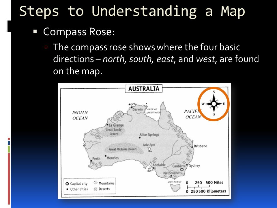 Steps to Understanding a Map