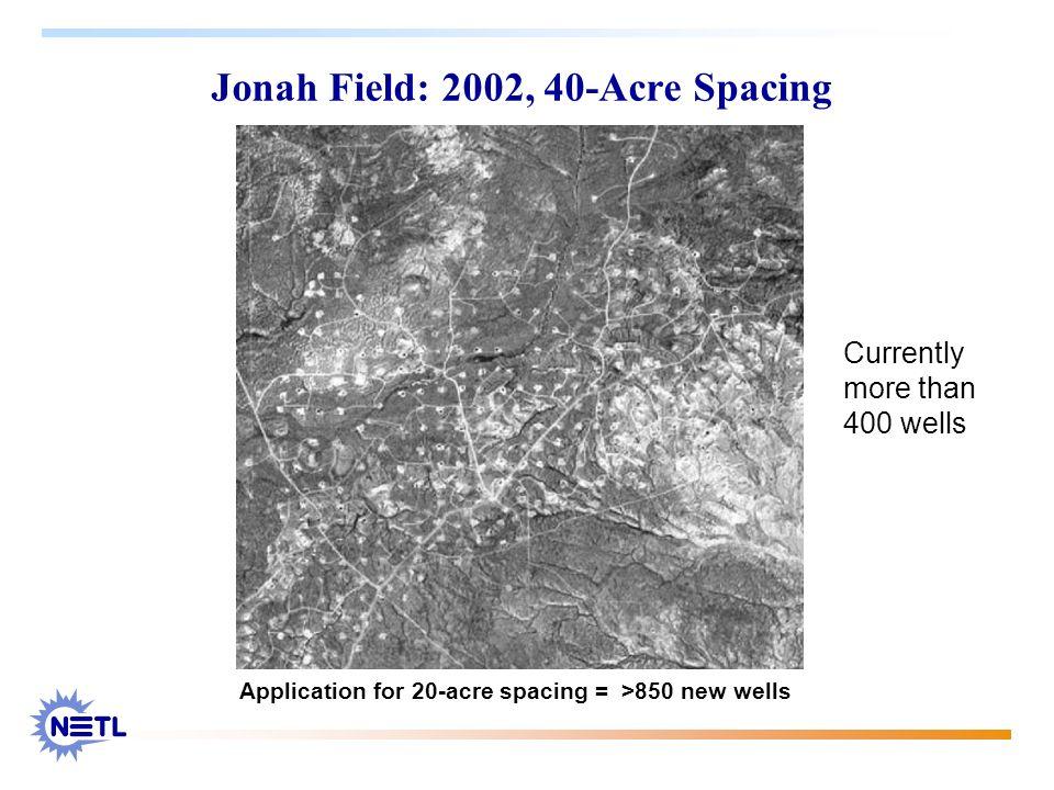 Jonah Field: 2002, 40-Acre Spacing