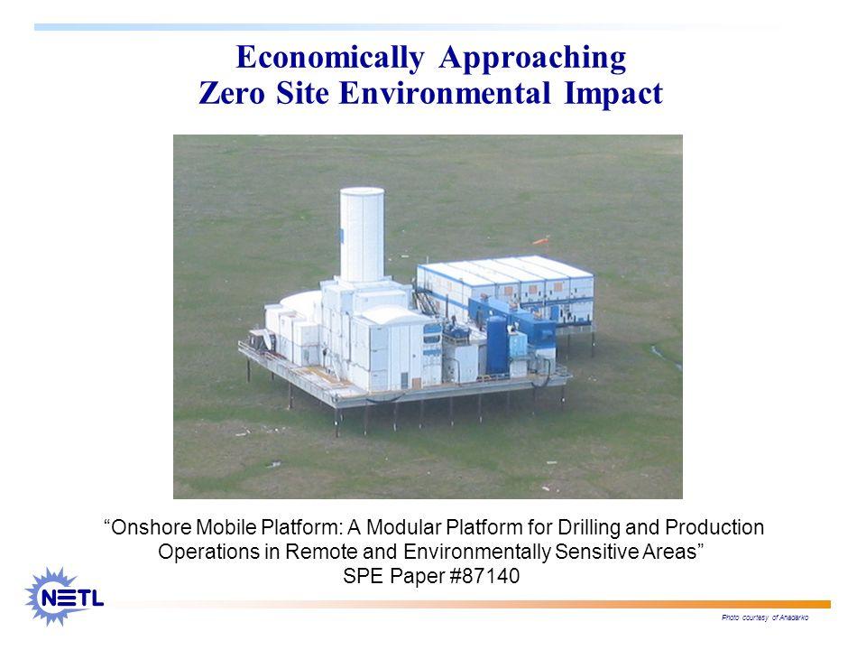Economically Approaching Zero Site Environmental Impact