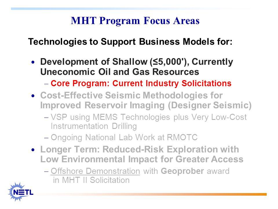 MHT Program Focus Areas