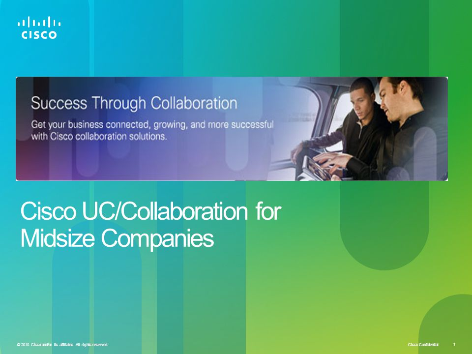 Cisco UC/Collaboration for Midsize Companies