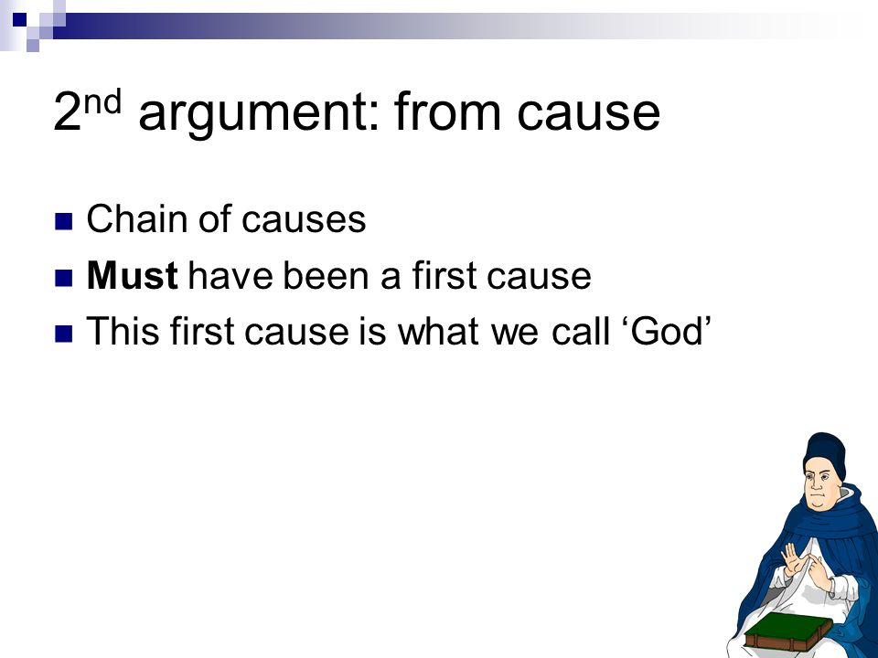2nd argument: from cause