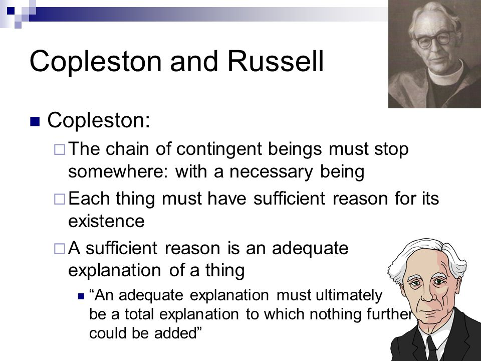 Copleston and Russell Copleston: