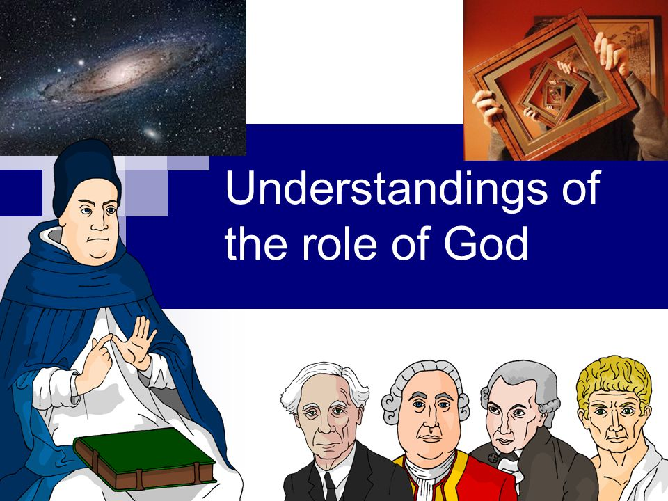 Understandings of the role of God