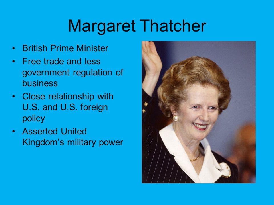 Margaret Thatcher British Prime Minister