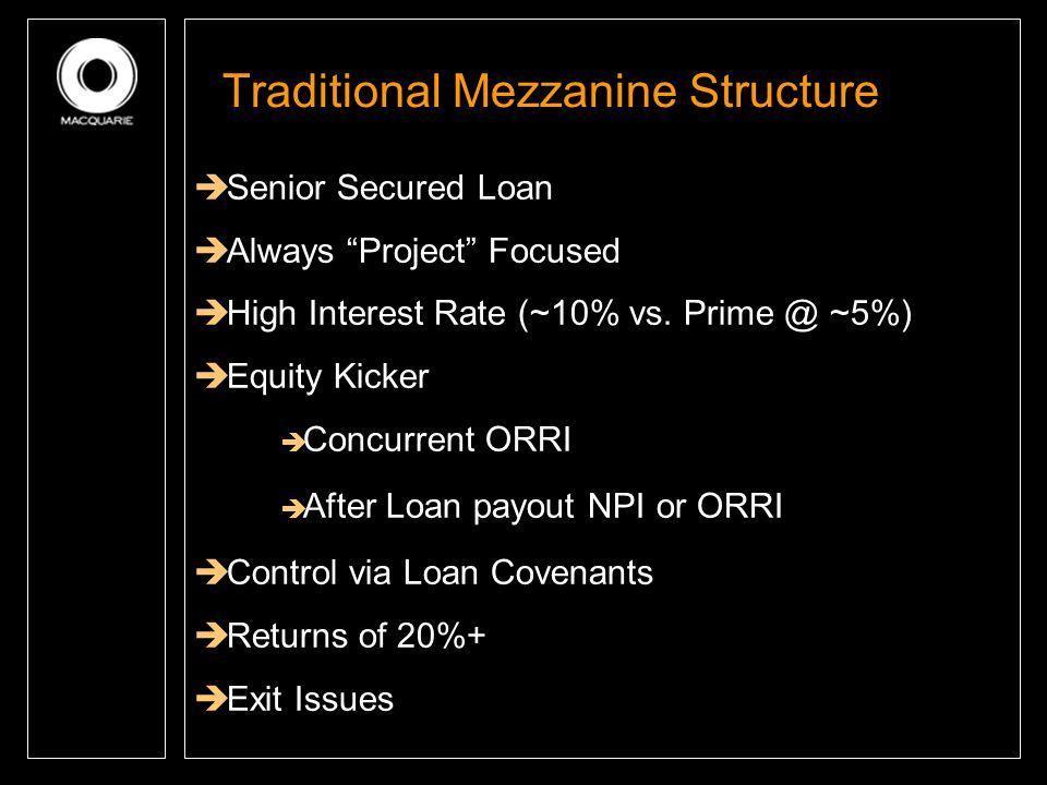 Traditional Mezzanine Structure