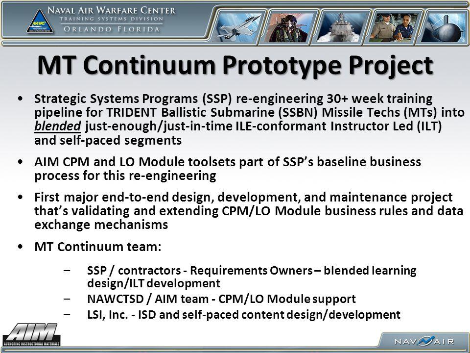 MT Continuum Prototype Project