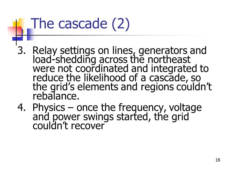 The cascade (2)