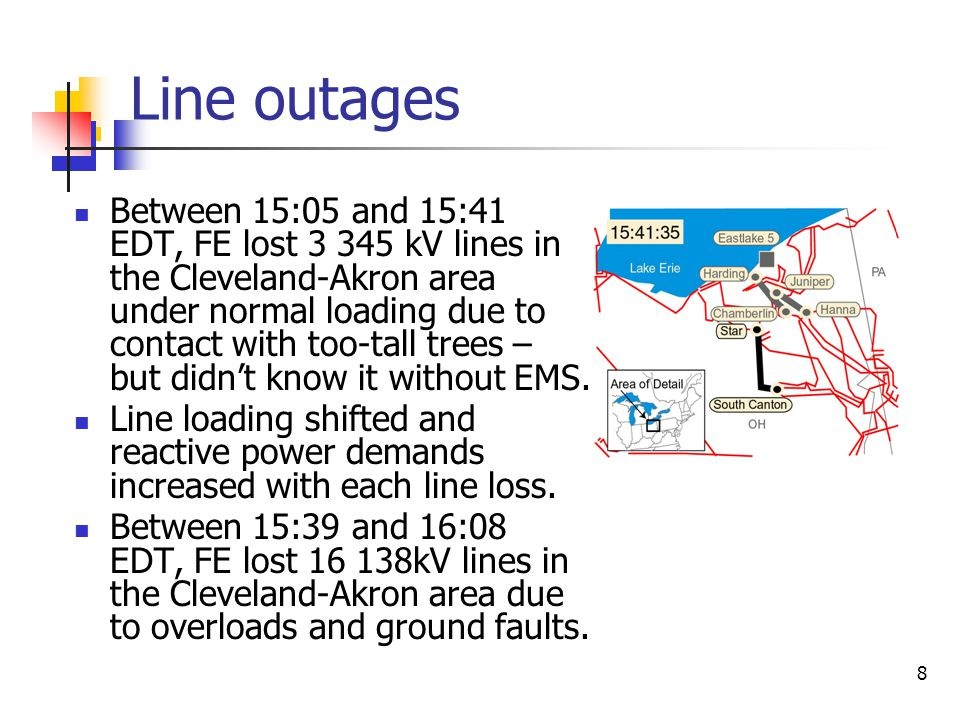 Line outages