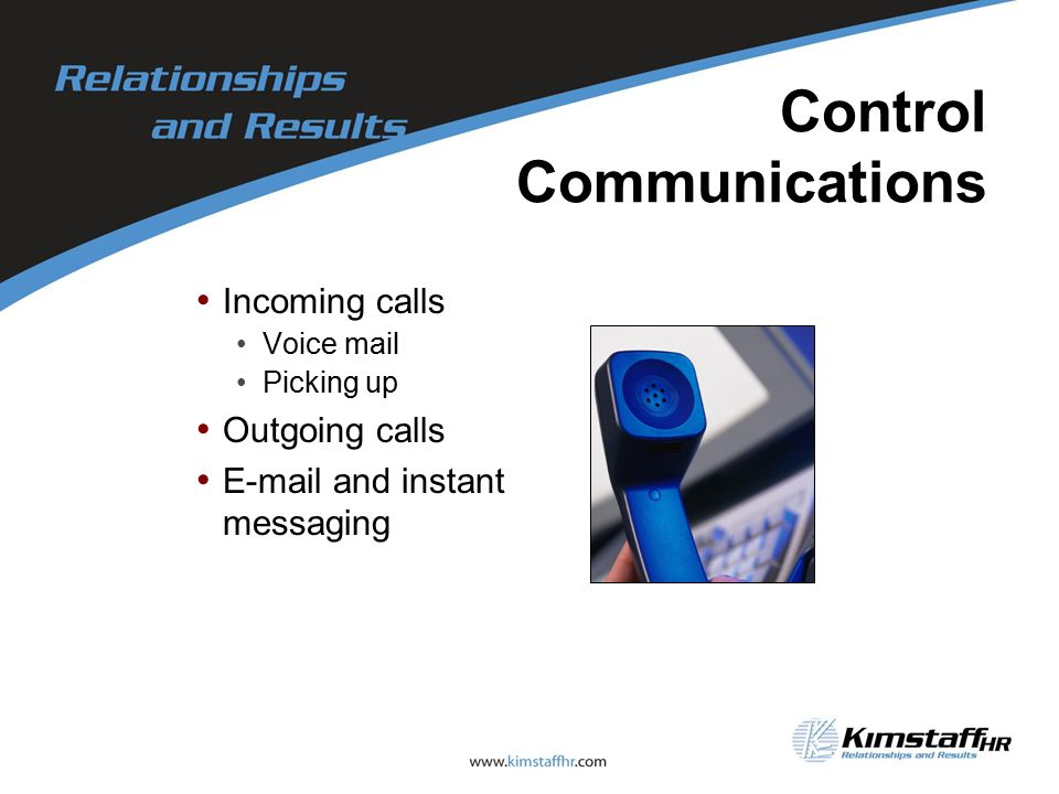 Control Communications