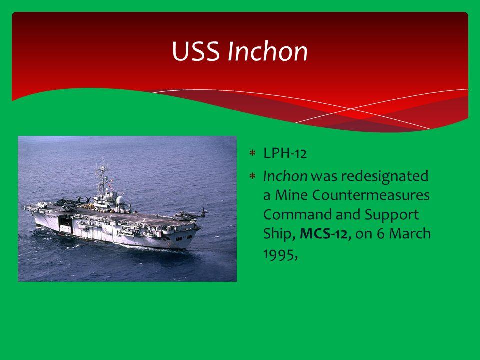 USS Inchon LPH-12.