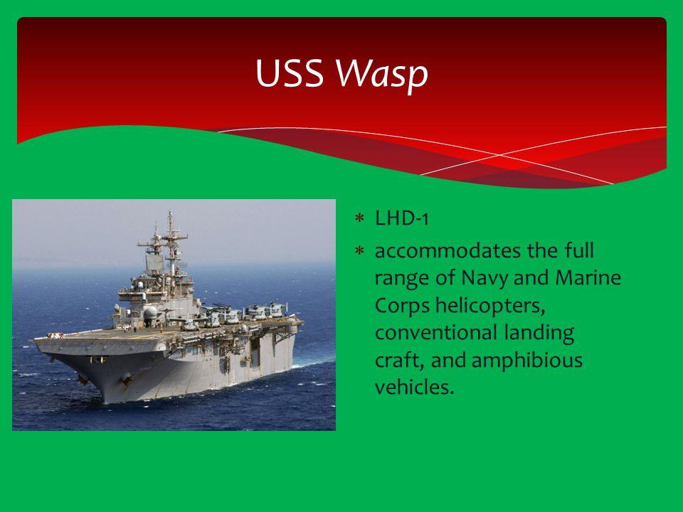 USS Wasp LHD-1.