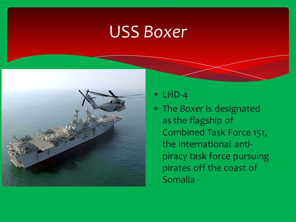 USS Boxer LHD-4.