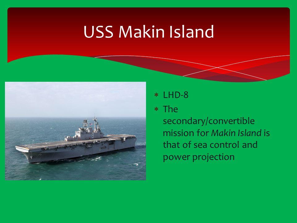 USS Makin Island LHD-8.