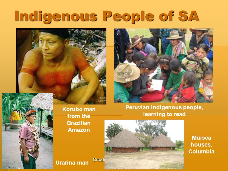 Indigenous People of SA