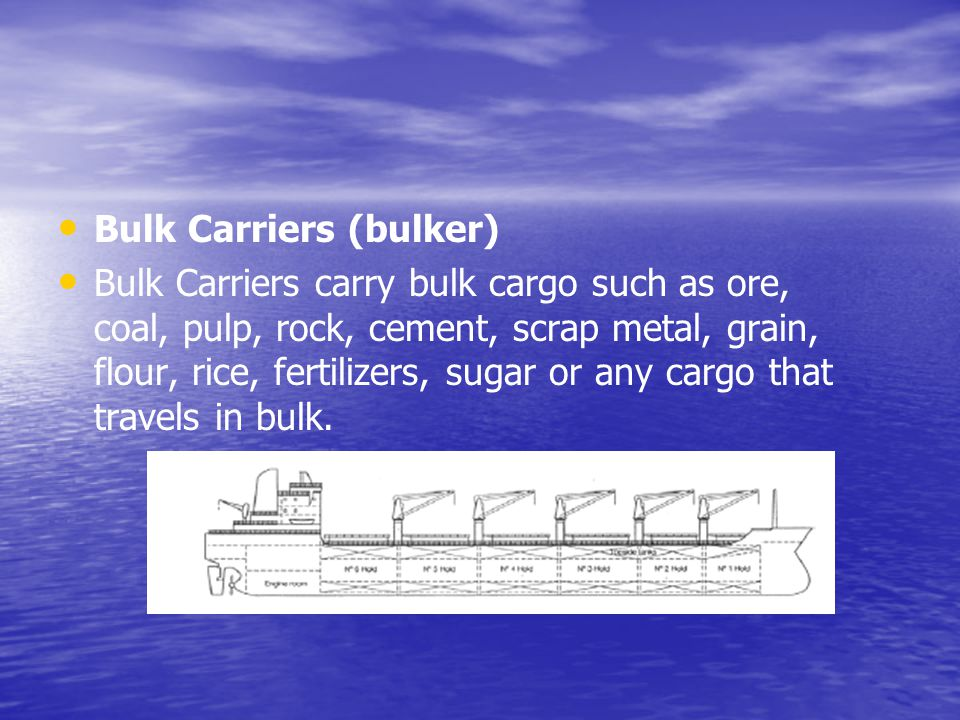 Bulk Carriers (bulker)