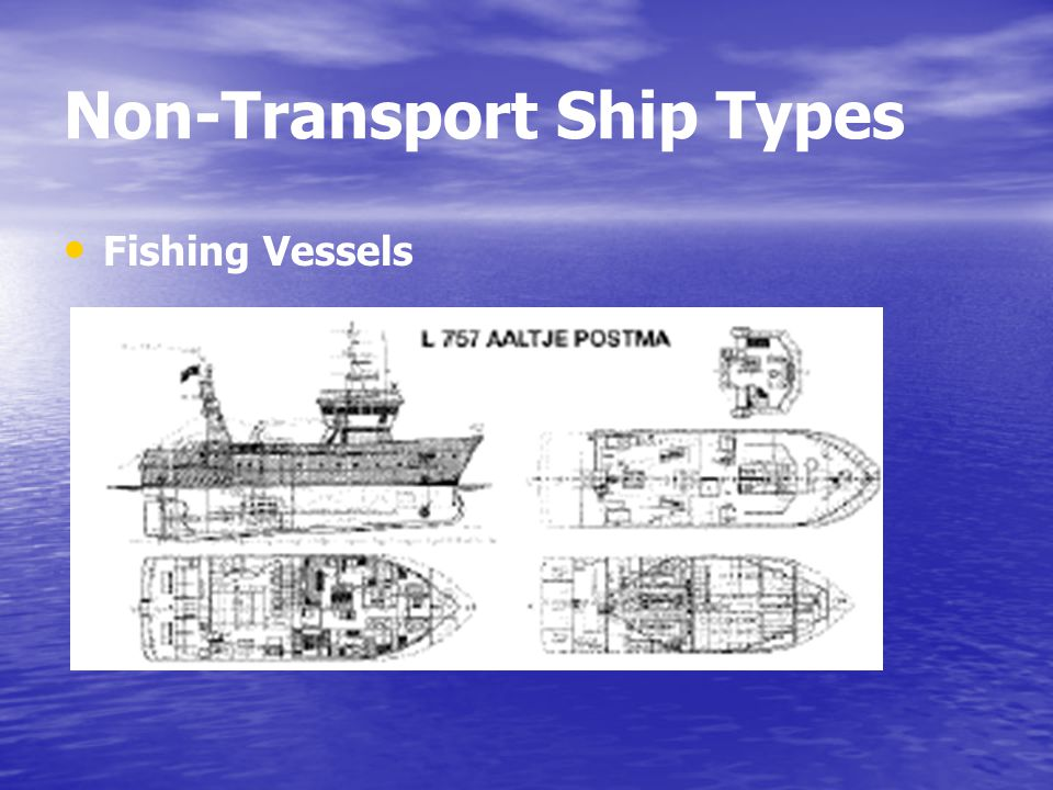 Non-Transport Ship Types