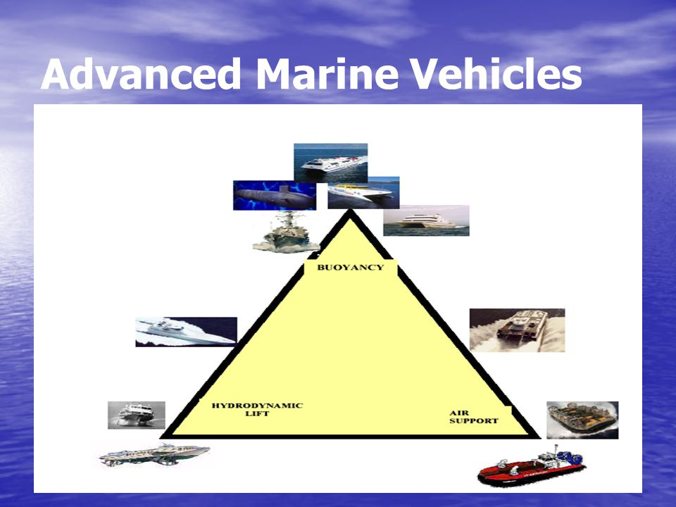 Advanced Marine Vehicles