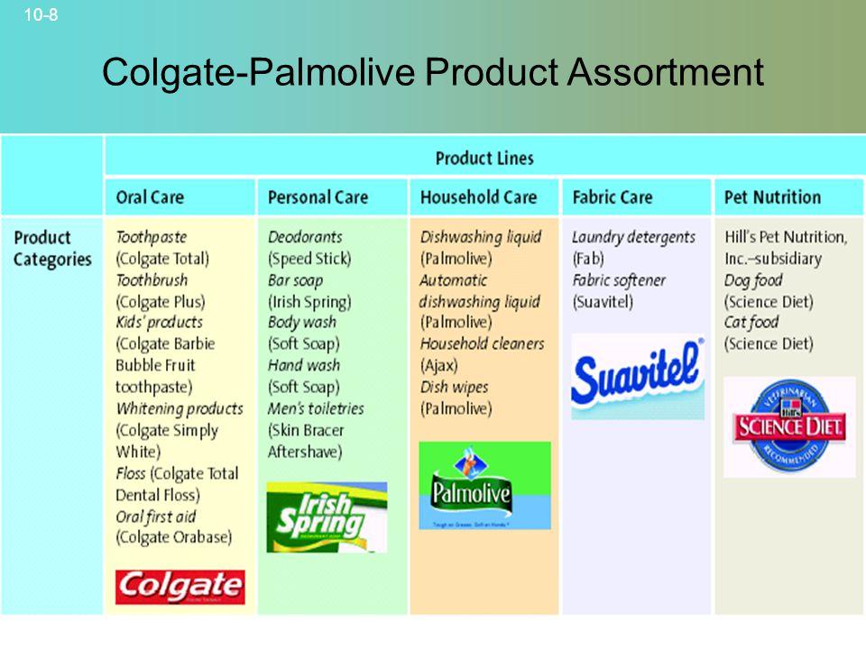 Colgate-Palmolive Product Assortment