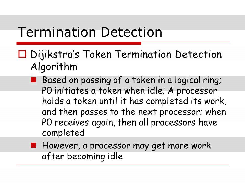 Termination Detection