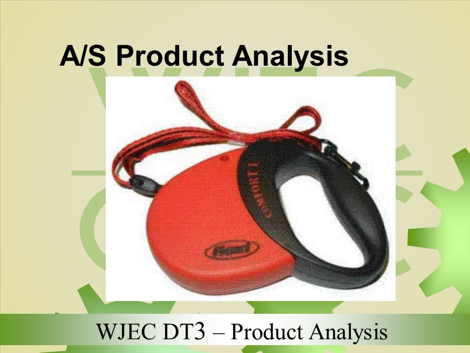A/S Product Analysis