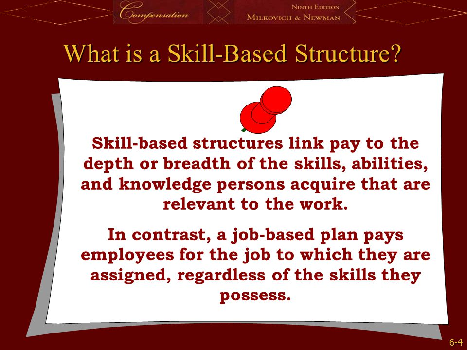 What is a Skill-Based Structure