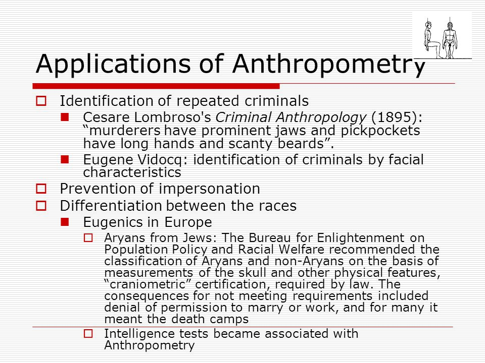 Applications of Anthropometry