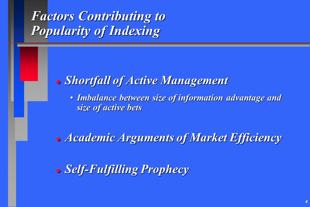 Factors Contributing to Popularity of Indexing
