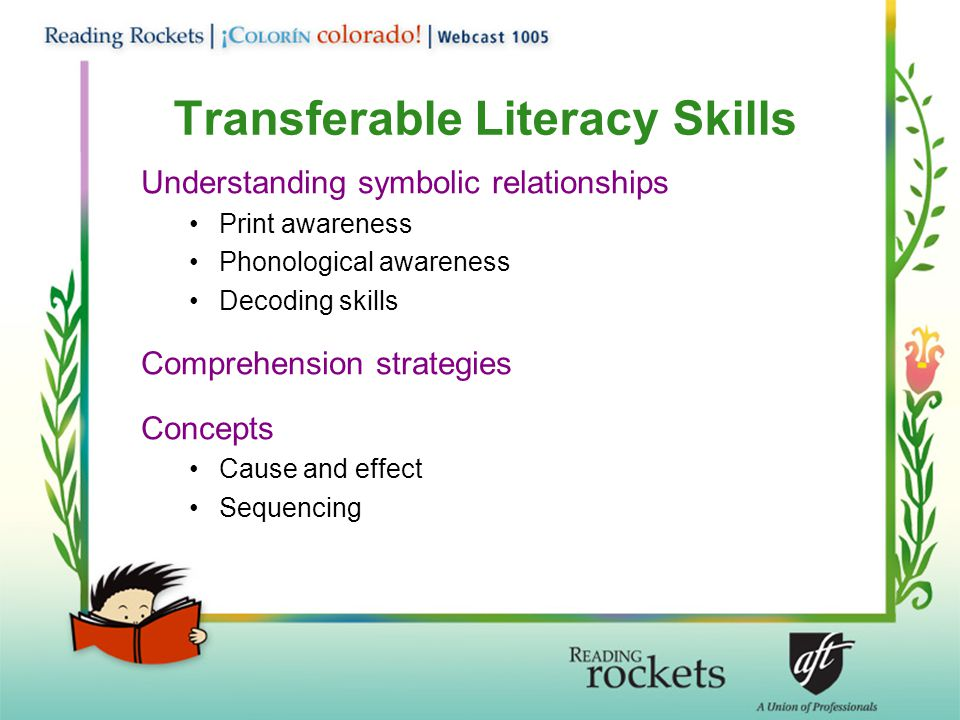 Transferable Literacy Skills