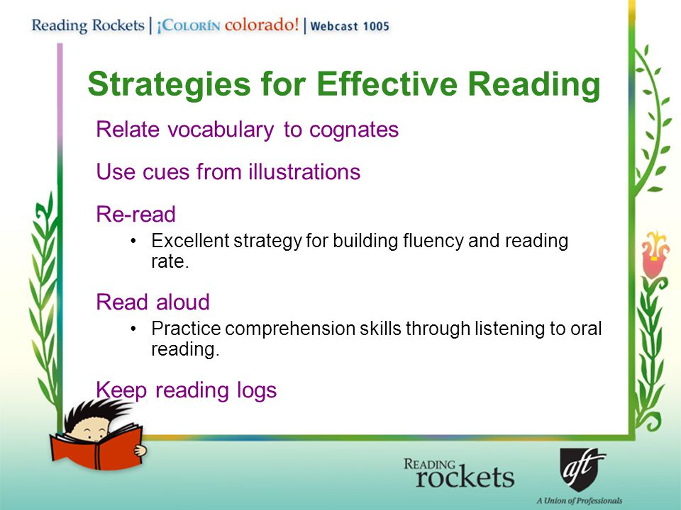 Strategies for Effective Reading