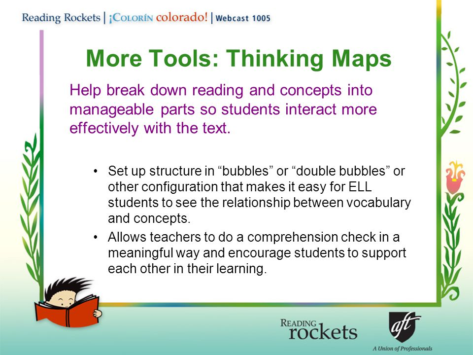 More Tools: Thinking Maps
