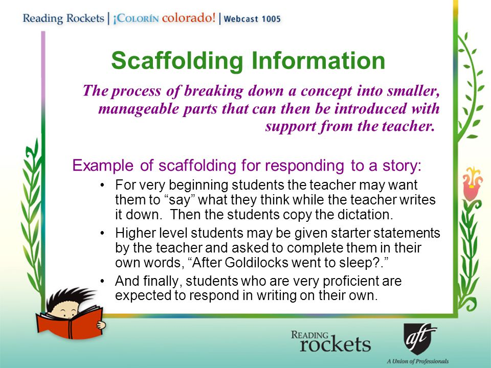 Scaffolding Information