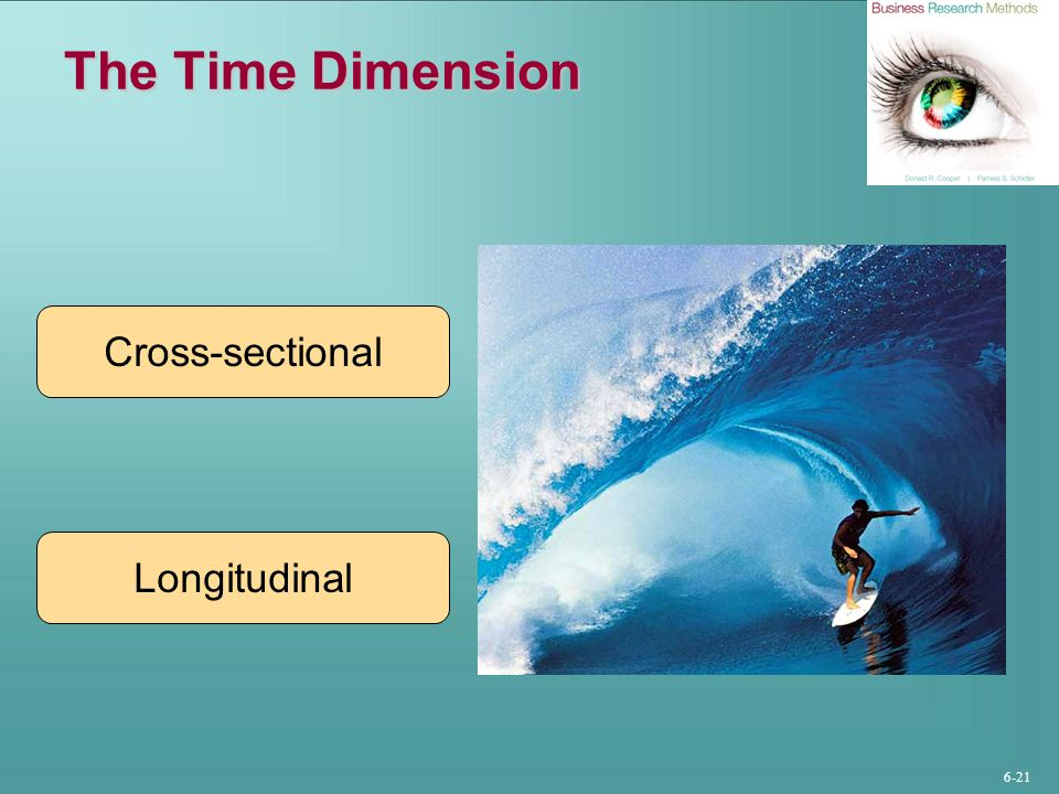 The Time Dimension Cross-sectional Longitudinal