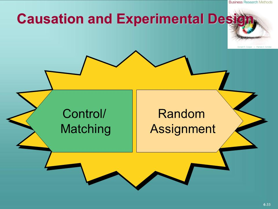 Causation and Experimental Design