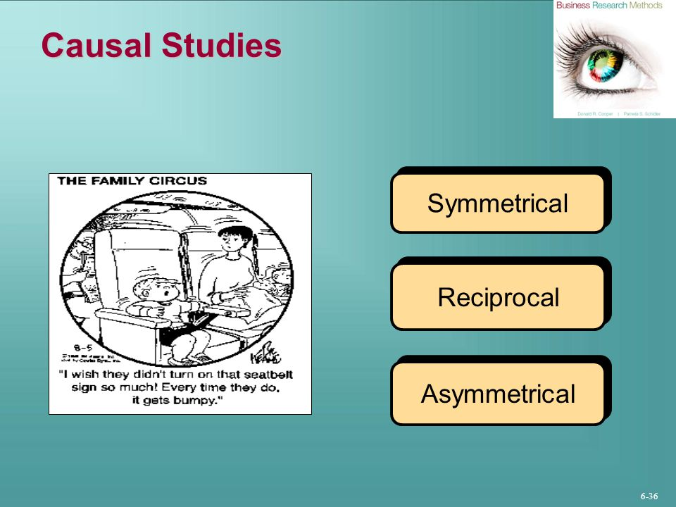 Causal Studies Symmetrical Reciprocal Asymmetrical