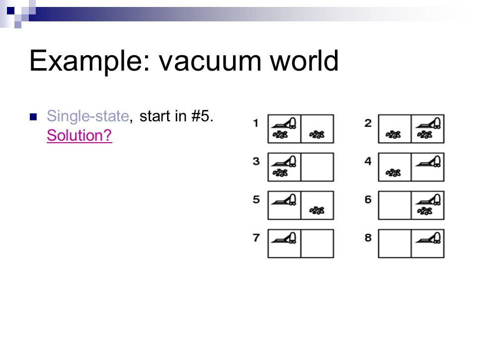 6 Example Vacuum World